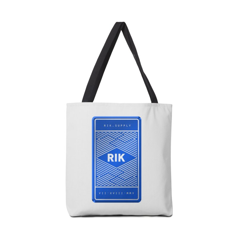 Barz (Royal) Accessories Bag by RIK.Supply