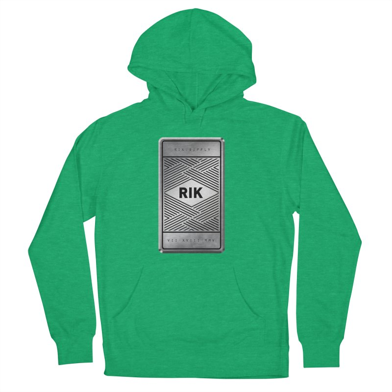 Barz (Silver) Women's Pullover Hoody by RIK.Supply