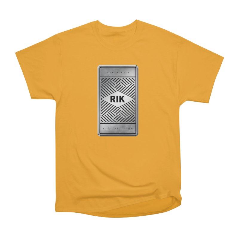 Barz (Silver) Men's Classic T-Shirt by RIK.Supply