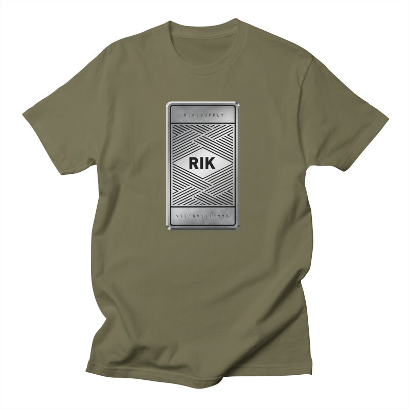 Barz (Silver) Men's T-Shirt by RIK.Supply