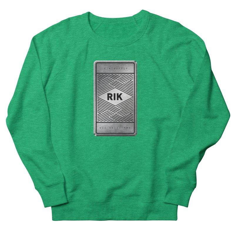 Barz (Silver) Women's French Terry Sweatshirt by RIK.Supply