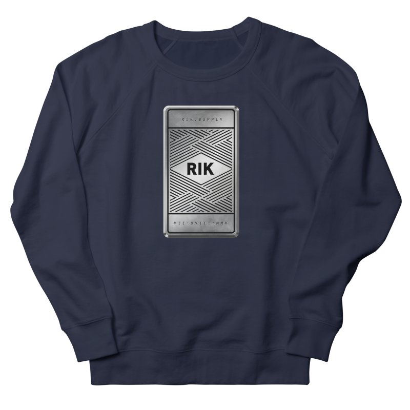 Barz (Silver) Men's Sweatshirt by RIK.Supply