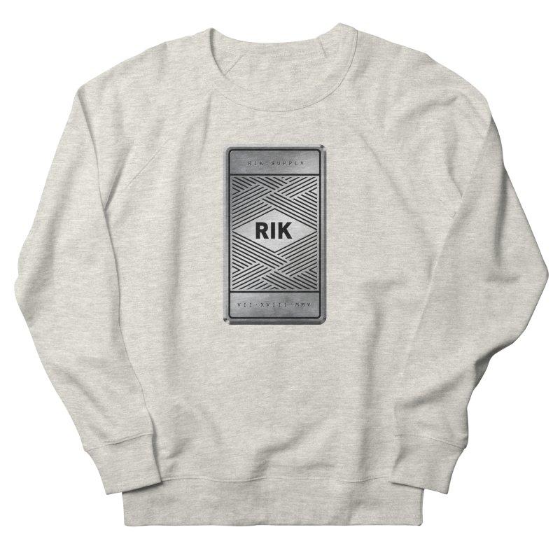 Barz (Silver) Men's Sweatshirt by RIK.Supply