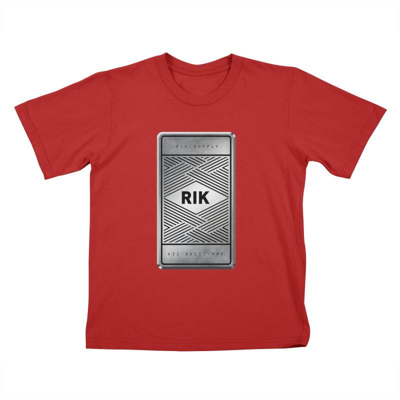 Barz (Silver) Kids T-shirt by RIK.Supply