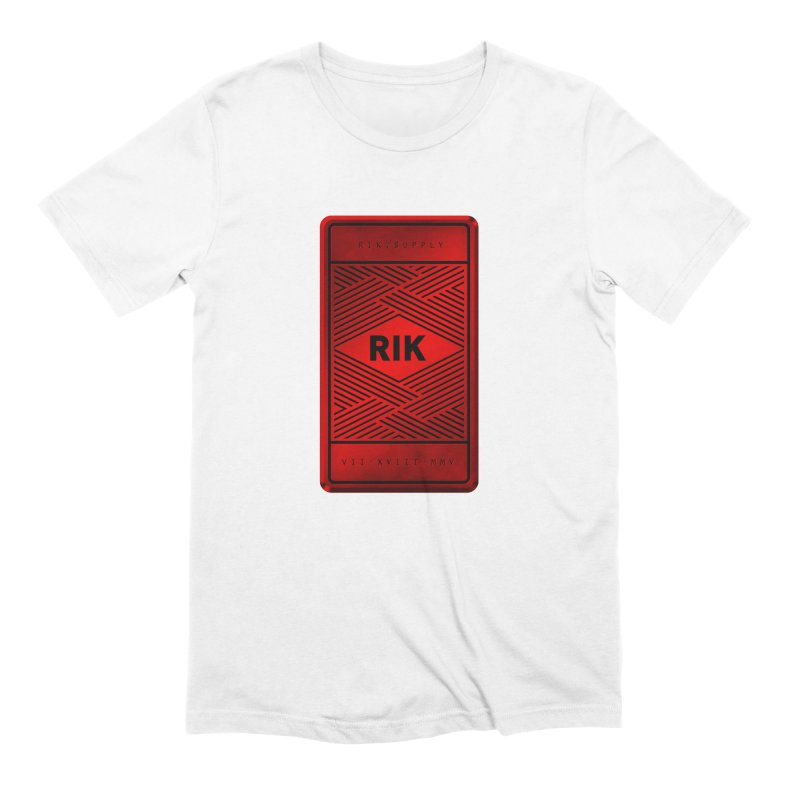 Barz (Rouge) Men's Extra Soft T-Shirt by RIK.Supply