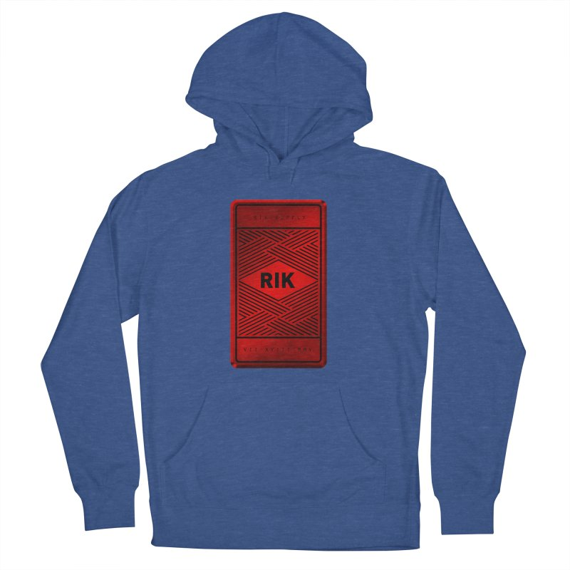 Barz (Rouge) Men's French Terry Pullover Hoody by RIK.Supply