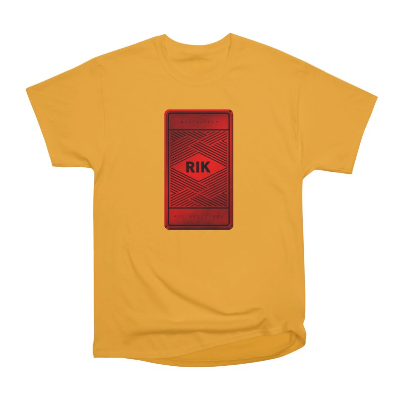 Barz (Rouge) Men's Heavyweight T-Shirt by RIK.Supply