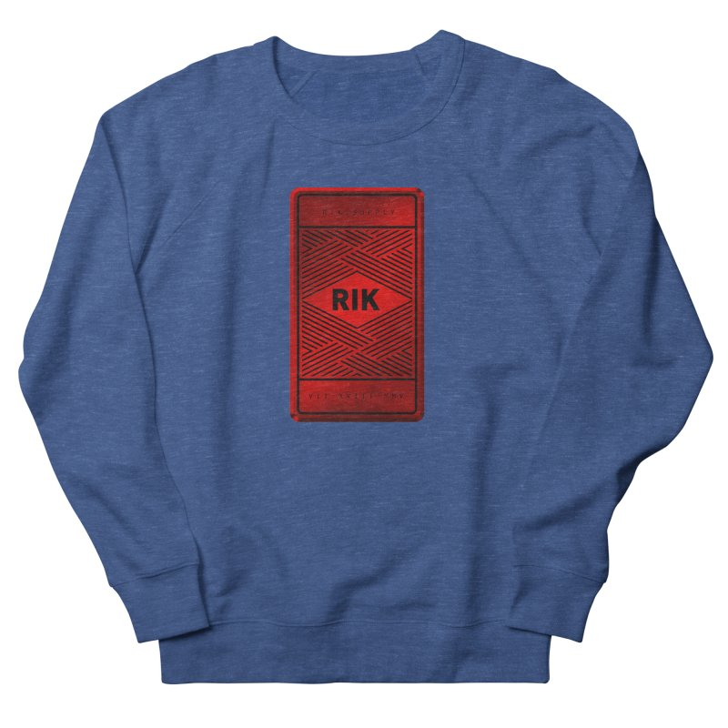 Barz (Rouge) Men's French Terry Sweatshirt by RIK.Supply