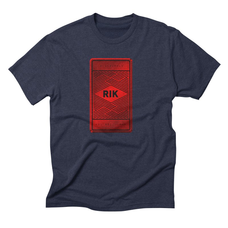 Barz (Rouge) Men's Triblend T-Shirt by RIK.Supply