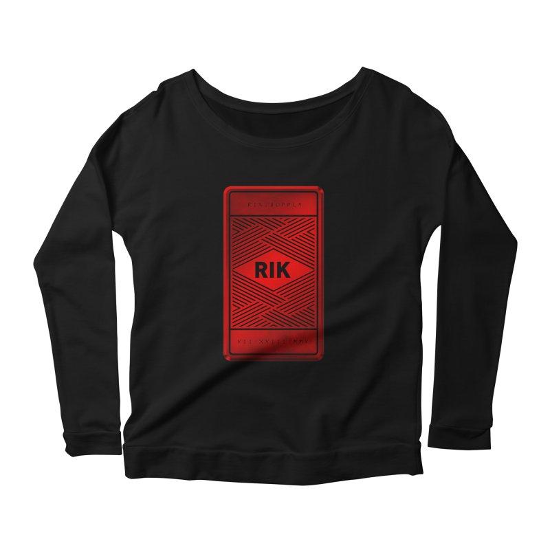 Barz (Rouge) Women's Longsleeve Scoopneck  by RIK.Supply