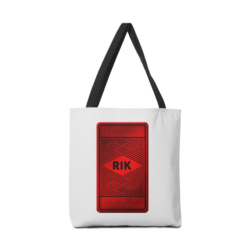 Barz (Rouge) Accessories Bag by RIK.Supply