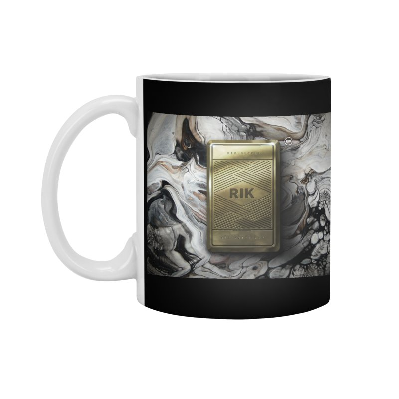 Barz (Gold) Accessories Mug by RIK.Supply