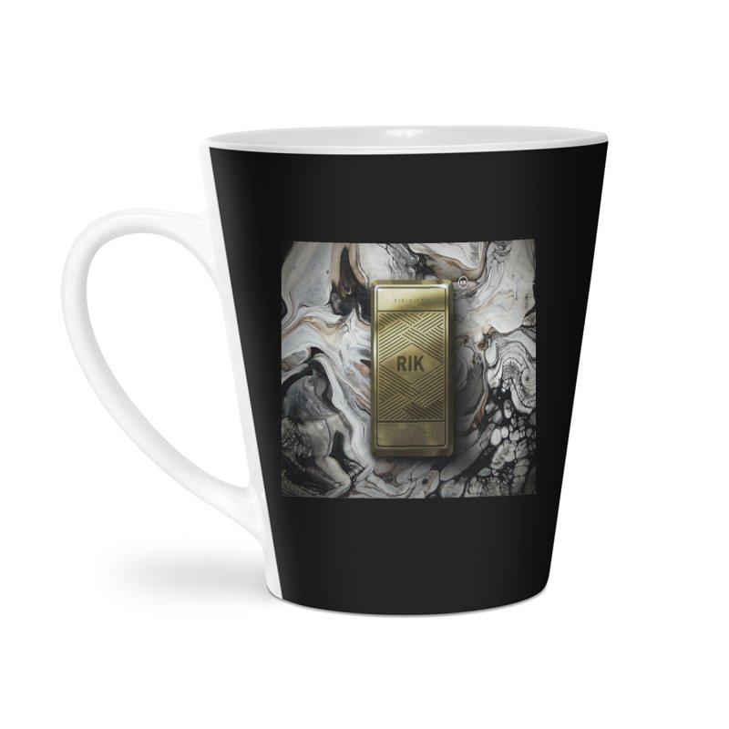 Barz (Gold) Accessories Latte Mug by RIK.Supply
