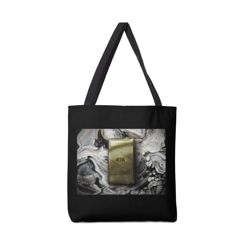 Barz (Gold) Accessories Bag by RIK.Supply