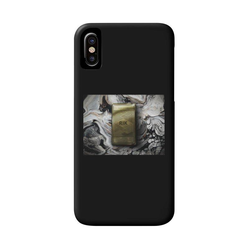 Barz (Gold) Accessories Phone Case by RIK.Supply