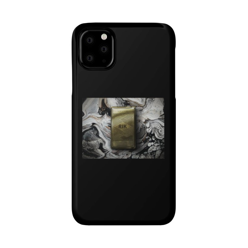 Barz (Gold) Accessories Phone Case by RIK.Supply