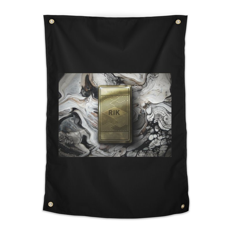 Barz (Gold) Home Tapestry by RIK.Supply