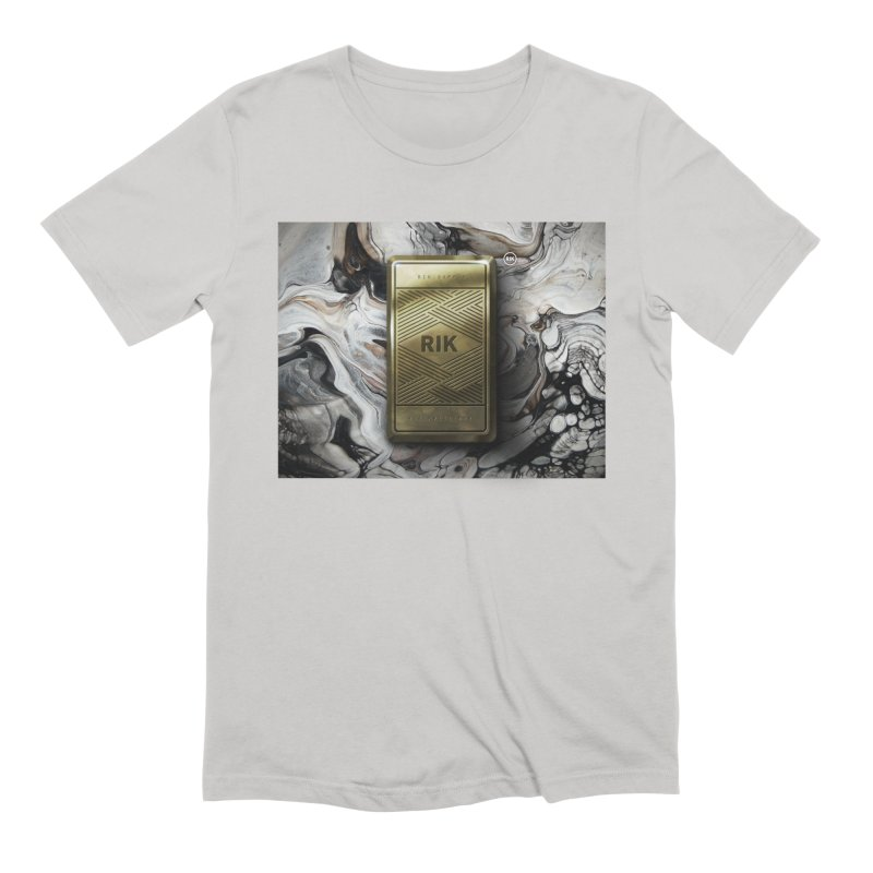 Barz (Gold) Men's Extra Soft T-Shirt by RIK.Supply