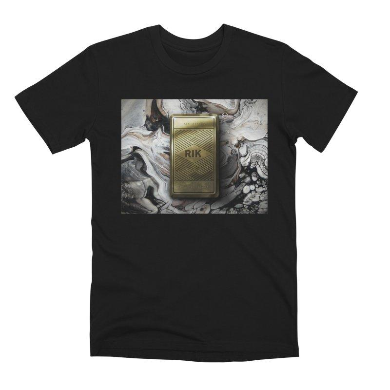 Barz (Gold) Men's Premium T-Shirt by RIK.Supply
