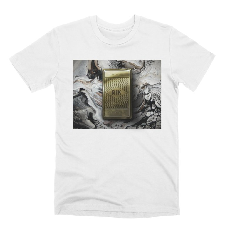 Barz (Gold) Men's Premium T-Shirt by RIK.Supply