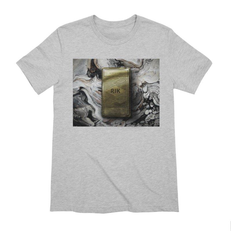 Barz (Gold) Men's Extra Soft T-Shirt by RIK.Supply