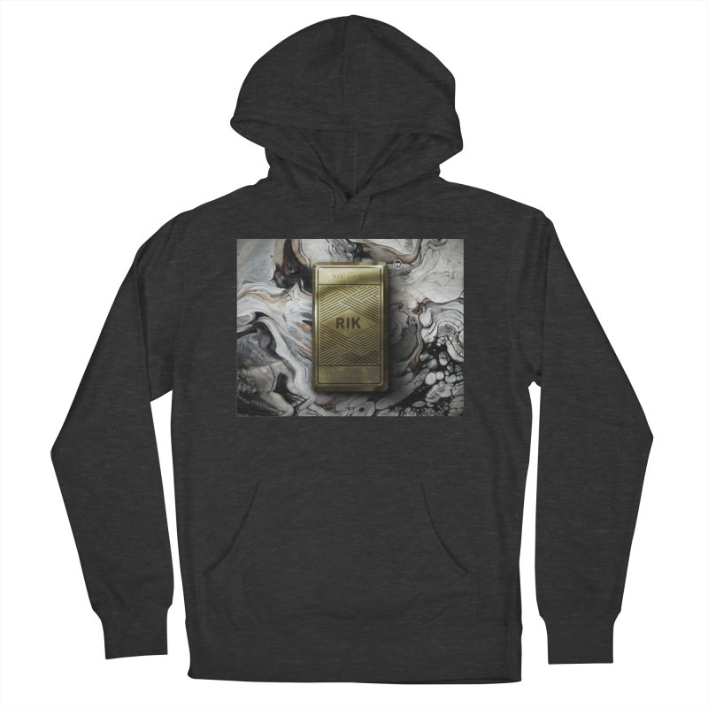 Barz (Gold) Women's French Terry Pullover Hoody by RIK.Supply