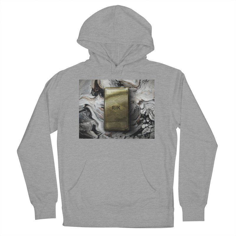 Barz (Gold) Women's Pullover Hoody by RIK.Supply