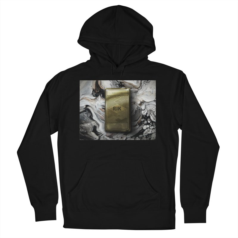 Barz (Gold) Men's French Terry Pullover Hoody by RIK.Supply