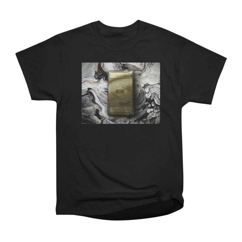Barz (Gold) Men's Heavyweight T-Shirt by RIK.Supply