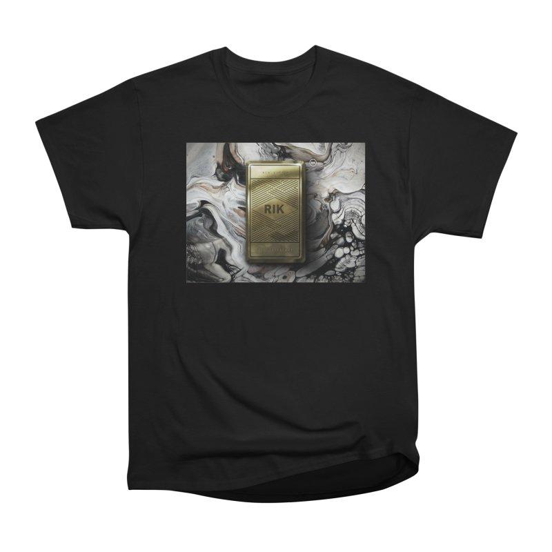 Barz (Gold) Men's Classic T-Shirt by RIK.Supply