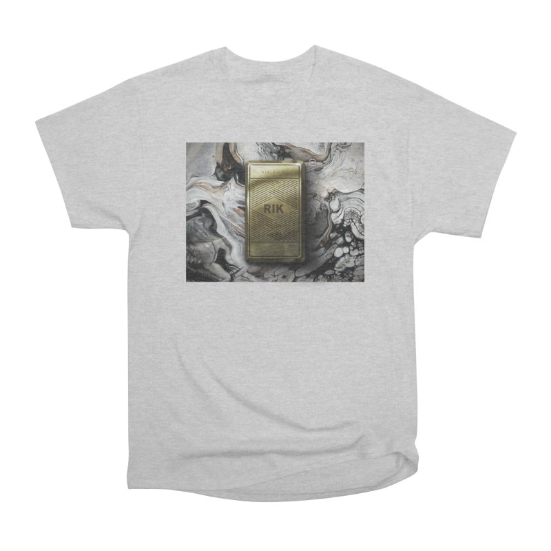 Barz (Gold) Men's Classic T-Shirt by RIK.Supply