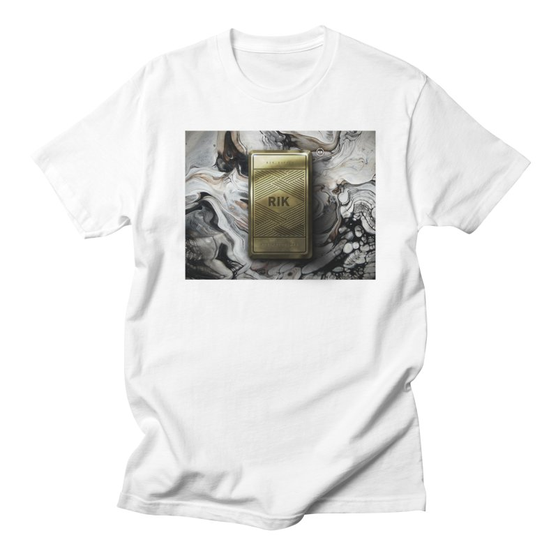 Barz (Gold) Men's T-Shirt by RIK.Supply