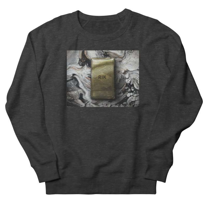 Barz (Gold) Men's French Terry Sweatshirt by RIK.Supply