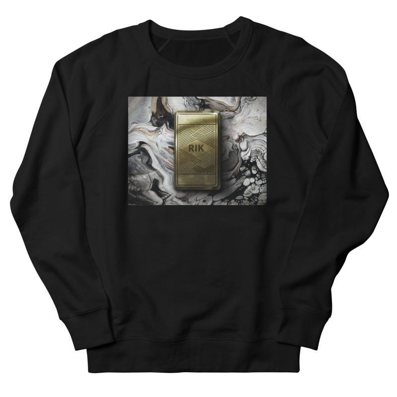 Barz (Gold) in Men's Sweatshirt Black by RIK.Supply
