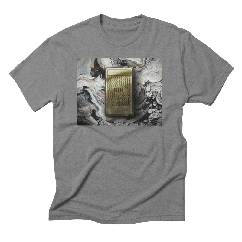 Barz (Gold) Men's Triblend T-Shirt by RIK.Supply