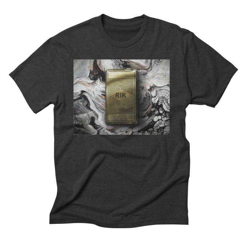 Barz (Gold) Men's Triblend T-shirt by RIK.Supply