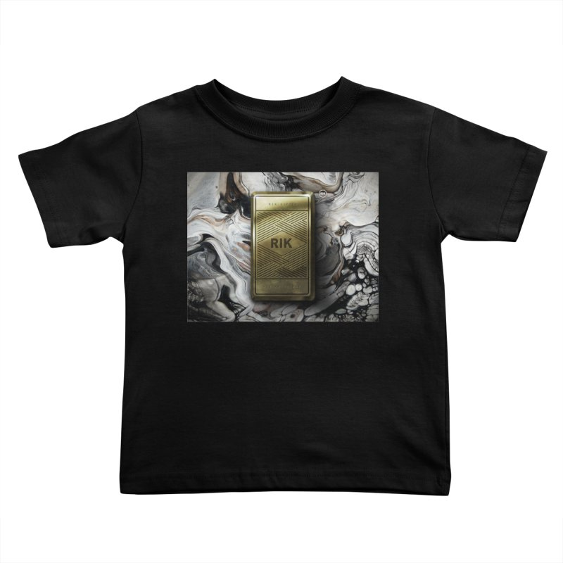 Barz (Gold) Kids Toddler T-Shirt by RIK.Supply
