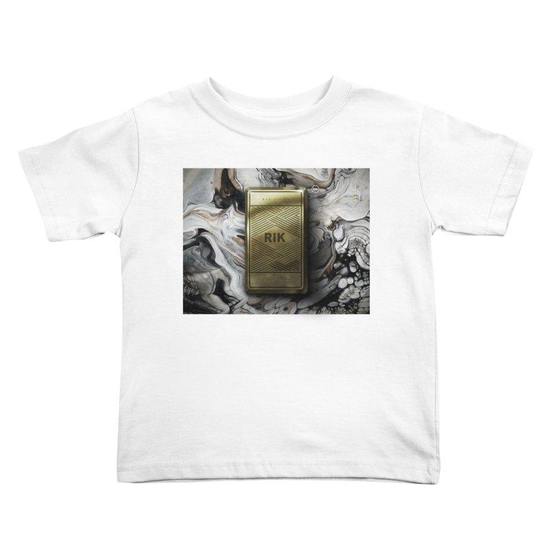 Barz (Gold) Kids Toddler T-Shirt by RIK.Supply