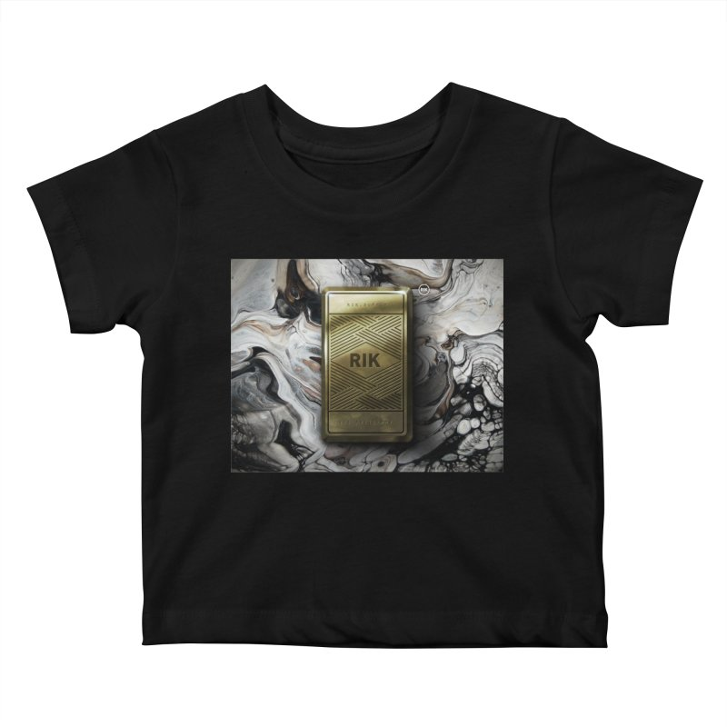 Barz (Gold) Kids Baby T-Shirt by RIK.Supply