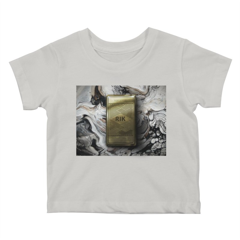 Barz (Gold) Kids Baby T-Shirt by RIK.Supply