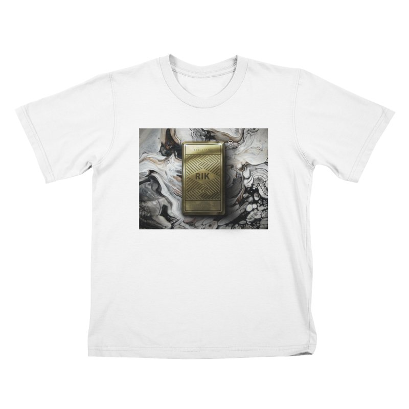 Barz (Gold) Kids T-Shirt by RIK.Supply