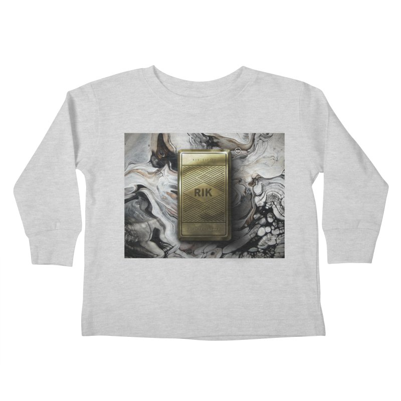 Barz (Gold) Kids Toddler Longsleeve T-Shirt by RIK.Supply
