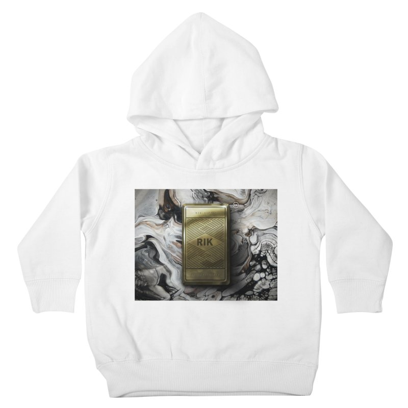 Barz (Gold) Kids Toddler Pullover Hoody by RIK.Supply