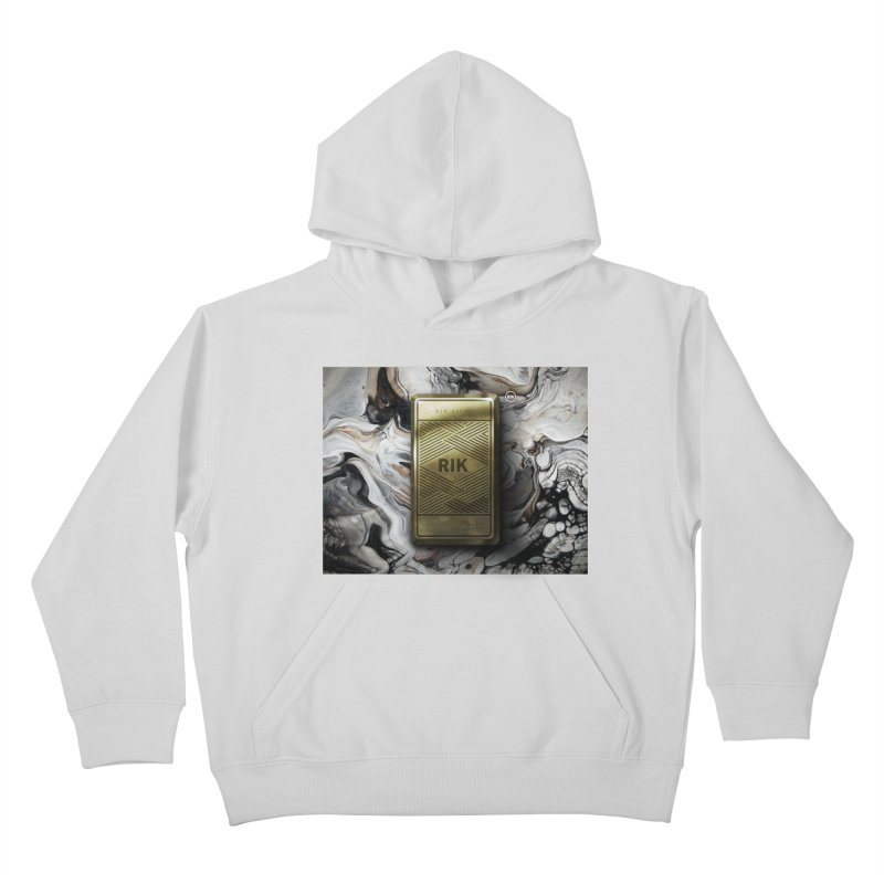 Barz (Gold) Kids Pullover Hoody by RIK.Supply