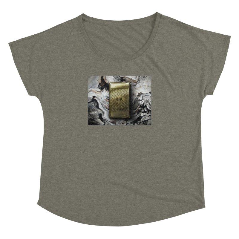 Barz (Gold) Women's Dolman Scoop Neck by RIK.Supply