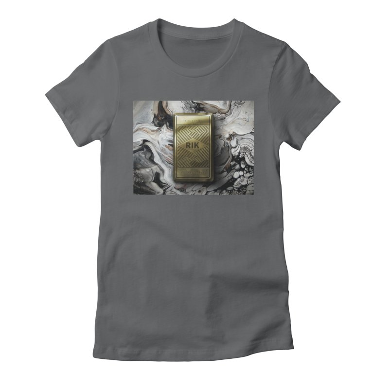 Barz (Gold) Women's Fitted T-Shirt by RIK.Supply