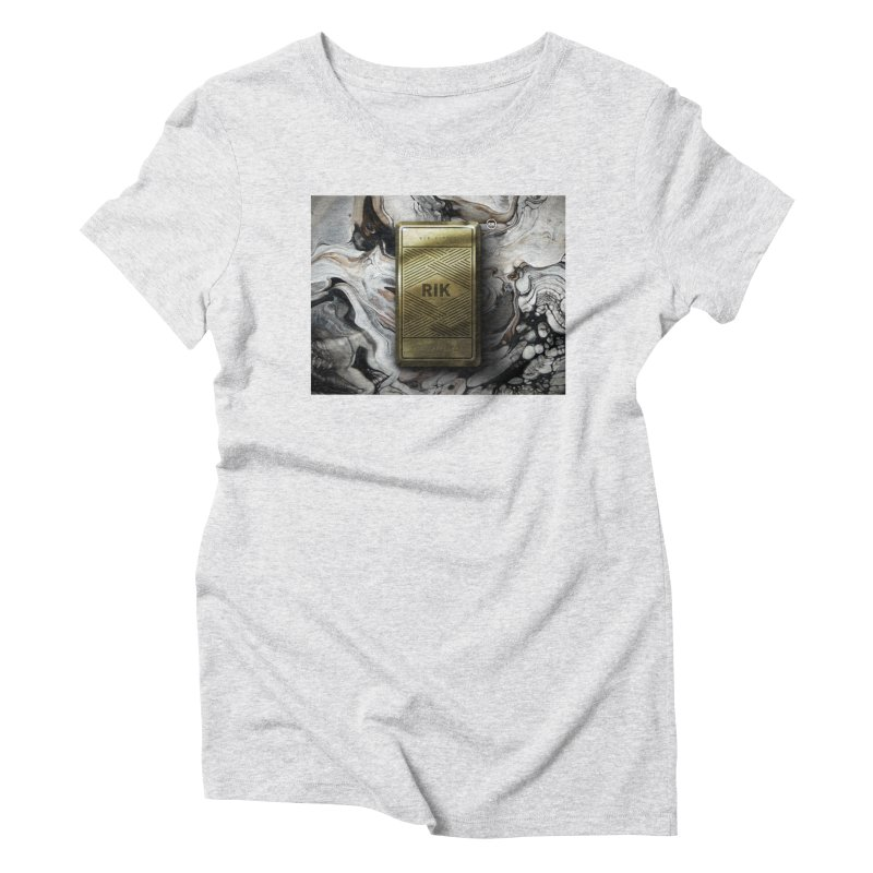 Barz (Gold) Women's Triblend T-Shirt by RIK.Supply