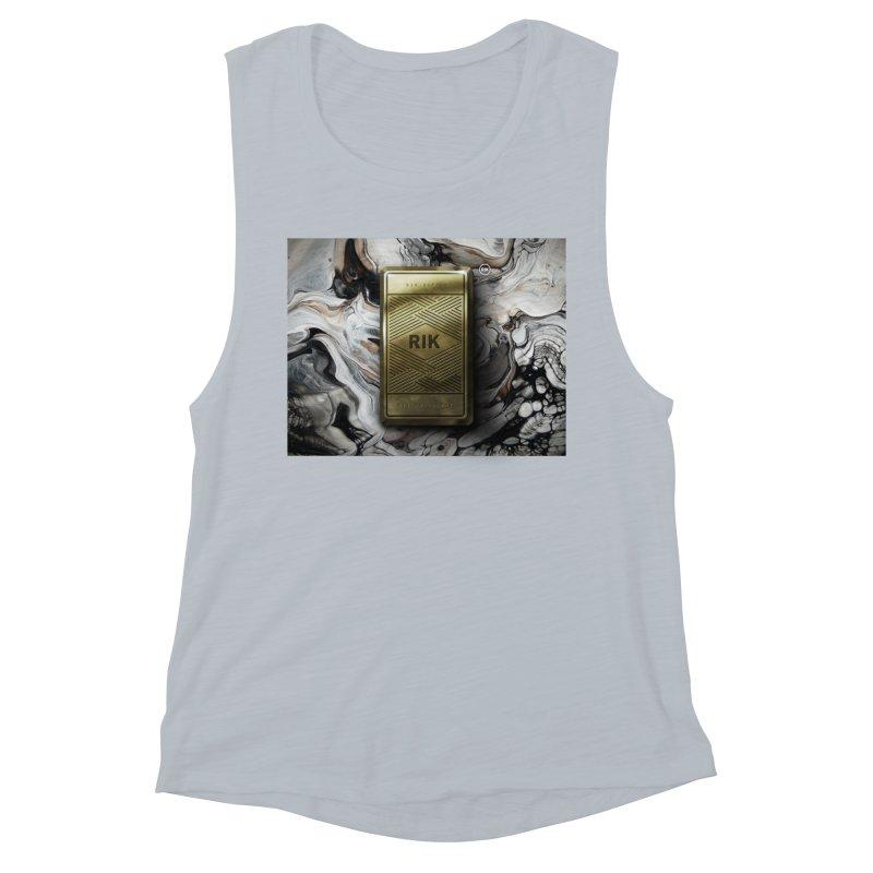 Barz (Gold) Women's Muscle Tank by RIK.Supply