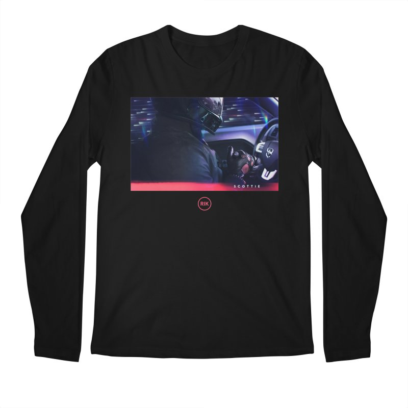 S C O T T I E Men's Regular Longsleeve T-Shirt by RIK.Supply