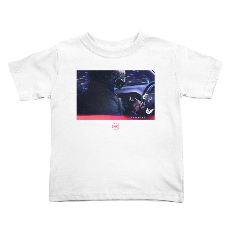S C O T T I E Kids Toddler T-Shirt by RIK.Supply
